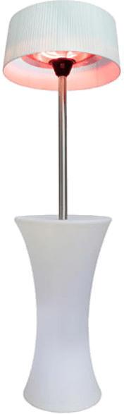 Wärmepilz Lounge elektrisch, weiß (30300182)