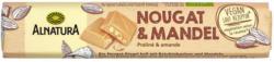 Alnatura Nougat & Mandel Riegel