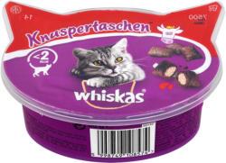 whiskas Knuspertaschen mit Rind Katzensnack