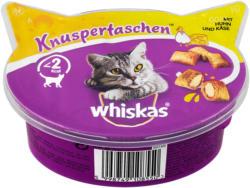 whiskas Knuspertaschen Katzensnack mit Huhn & Käse