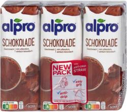 alpro Soya Schokolade Drink 3er Pack