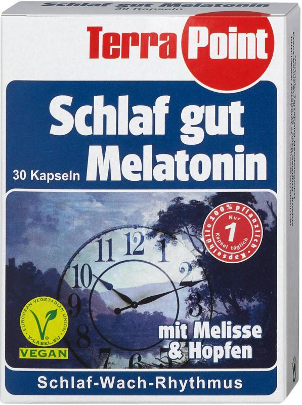 TerraPoint Schlaf gut Melatonin Kapseln