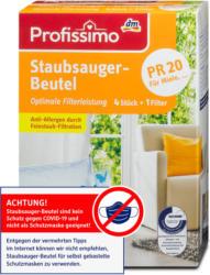 Profissimo Staubsauger-Beutel PR 20