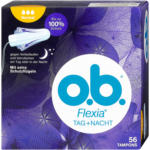 dm o.b. Flexia Tag + Nacht Tampons Normal