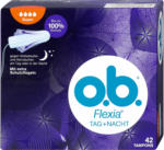 dm o.b. Flexia Tag + Nacht Tampons Super