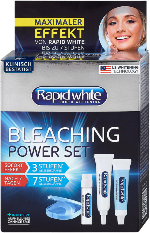 Rapid white Bleaching Power Set Zahnaufhellungsset