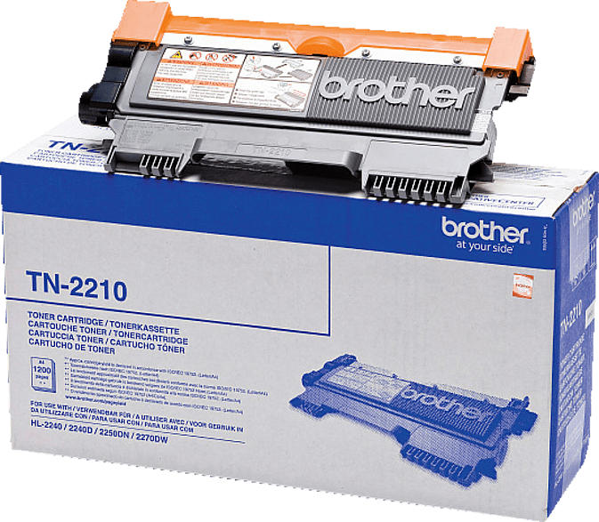BROTHER TN-2210 Tonerkartusche Schwarz