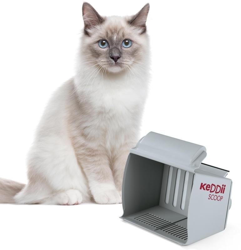 Lettiera per gatti KEDDII SCOOP