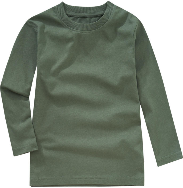 Jungen Langarmshirt im Basic-Look (Nur online)