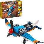 MediaMarkt LEGO 31099 Propellerflugzeug Bausatz, Mehrfarbig