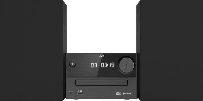 JVC UX-C25DAB Micro HiFI-System  (Schwarz)