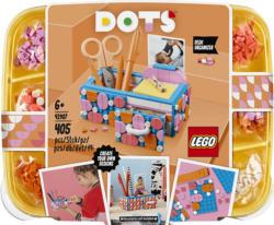 LEGO 41907 Stiftehalter mit Schublade Bausatz, Mehrfarbig