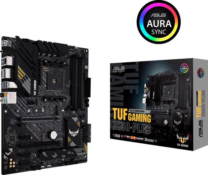 ASUS TUF Gaming B550-PLUS (90MB14G0-M0EAY0) Mainboard Schwarz