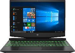 HP Pavilion 15-dk1325ng, Gaming Notebook mit 15.6 Zoll Display, Core™ i5 Prozessor, 8 GB RAM, 512 GB SSD, GeForce® GTX 1650, Schwarz