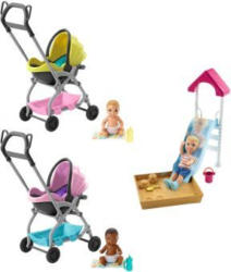 Barbie Skipper - Babysitters - 1 Stück Junge mit Sandkasten