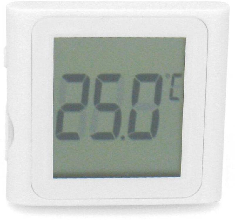 Amazonas Digital-Thermometer W89 weiss