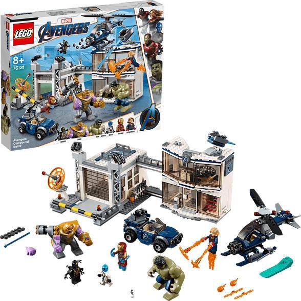 LEGO 76131 Avengers-Hauptquartier Bausatz, Mehrfarbig