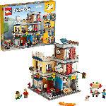 MediaMarkt LEGO 31097 Stadthaus mit Zoohandlung & Café Bausatz, Mehrfarbig