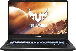 ASUS TUF Gaming FX705DT-H7113T, Gaming Notebook mit 17.3 Zoll Display, Ryzen™ 7 Prozessor, 16 GB RAM, 512 GB SSD, GeForce GTX 1650, Stealth Black