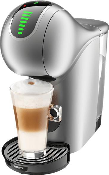 KRUPS KP440E Nescafé Dolce Gusto Genio S Touch Kapselmaschine, Schwarz/Siber