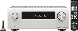 DENON AVC-X4700H AV-Verstärker (9.2 Kanäle, Silber)