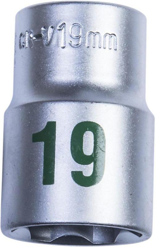 Steckschlüsseleinsatz, 1/2 Zoll, 19mm 19 mm