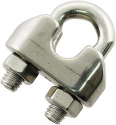 Drahtseilklemme, Edelstahl, 1-2mm, 3 Stück 2 mm