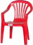 HELLWEG Baumarkt Kinder-Gartenstuhl, Monoblock, rot rot | rot