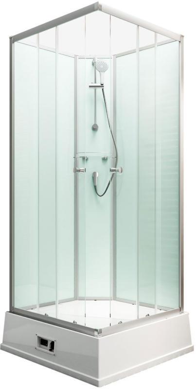 """Wellnesskabine """"Korfu II"""", Boiler und Pumpe, light-grün"""