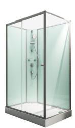 """Wellnesskabine """"Ibiza"""", links, light-grün, 204x120x80 cm 204x120x80 cm"""