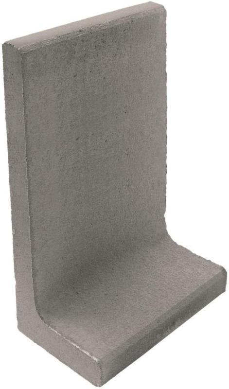 L-Steine, 80x40x40x7 cm, Grau