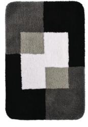 """Teppich """"Coins"""", 60x90 cm, grau, Polyester"""