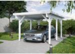 """BayWa Bau- & Gartenmärkte Einzelcarport """"KH 300"""", Leimholz, weiß, 344x504 cm"""