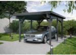 """BayWa Bau- & Gartenmärkte Einzelcarport """"KH 301"""", Leimholz, anthrazit, 344x504 cm"""