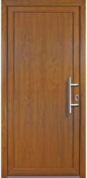 """Haustür """"JM Signum"""" Exklusiv PVC Mod. 01, golden oak/golden oak, Anschlag rechts, 98x208 cm rechts"""