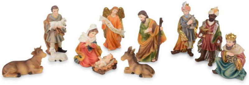"""Krippenfiguren """"Bethlehem"""", 7-9 cm, Kunststoff"""