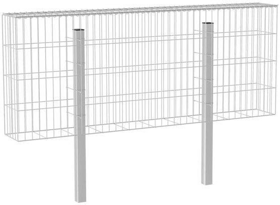 Gabionen-Zaun  200x80x25 cm 80 cm | 200 cm | 25 cm