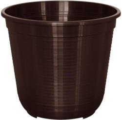 Blumentopf, Kunststoff, 36 cm, braun 35,5x35,5x31,5 cm