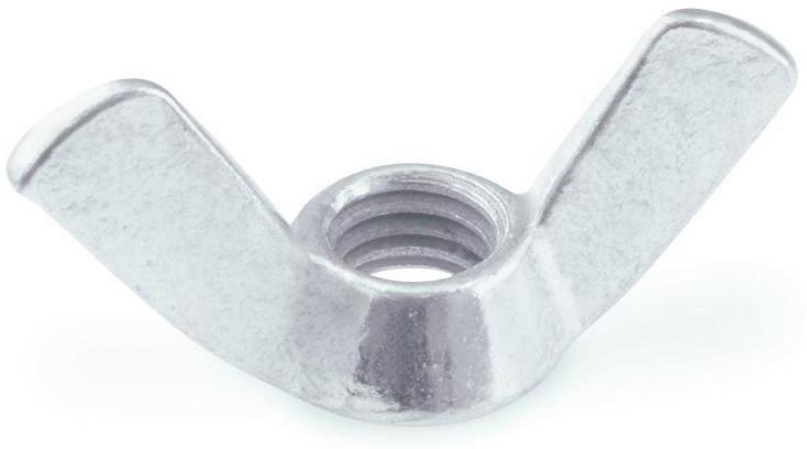 Flügelmutter, M 8mm, amerikanische Form 8 mm