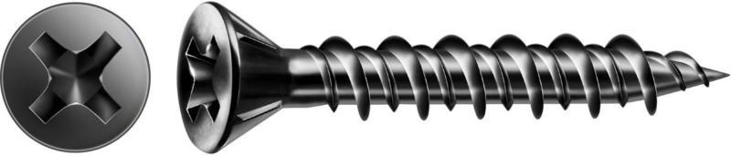 """Schnellbauschrauben """"C"""", für Gipsfaser, Fräskopf, 3,9x 35 mm"""