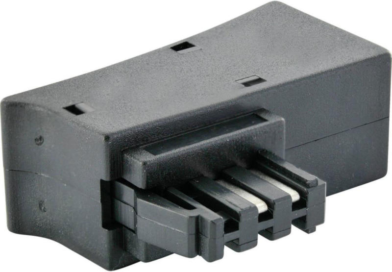 DSL Steckeradapter, für u.a. Telekom Speedport oder Fritzbox