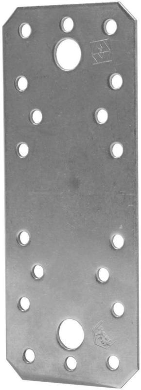 HV-Flachverbinder Edelst. 135x55x2