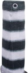 PE-Balkonbespannung 90x500 cm, dunkelgrün/weiß dunkelgrün/weiß