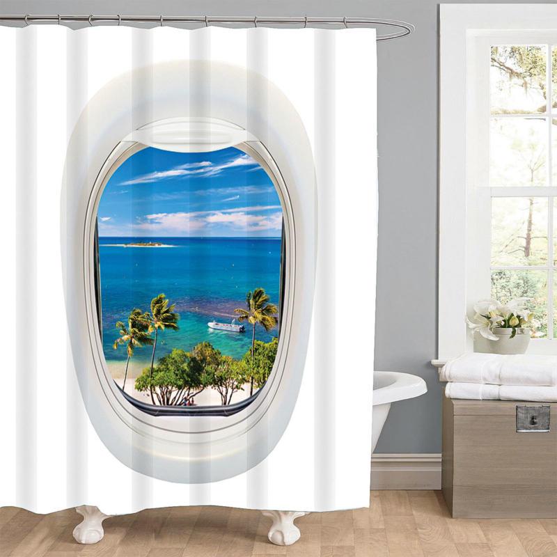 """Duschvorhang """"Ocean"""", Textil"""