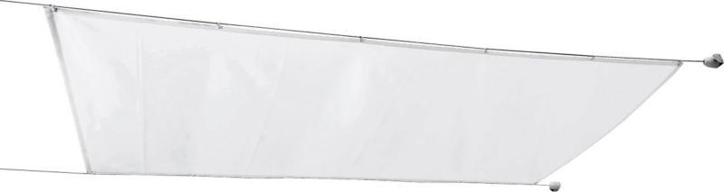 Seilspann-Markise 330x200 cm, weiß inkl. Montagematerial