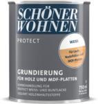 """HELLWEG Baumarkt Grundierung """"Protect"""" für Holz, Weiß, 0,75 L 750 ml"""