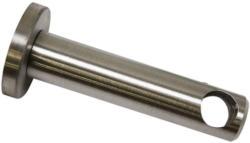 Träger geschlossen für Ø12 mm, 7,5 cm, Edelstahl