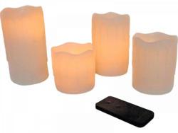 LED-Kerzen, 4er-Set