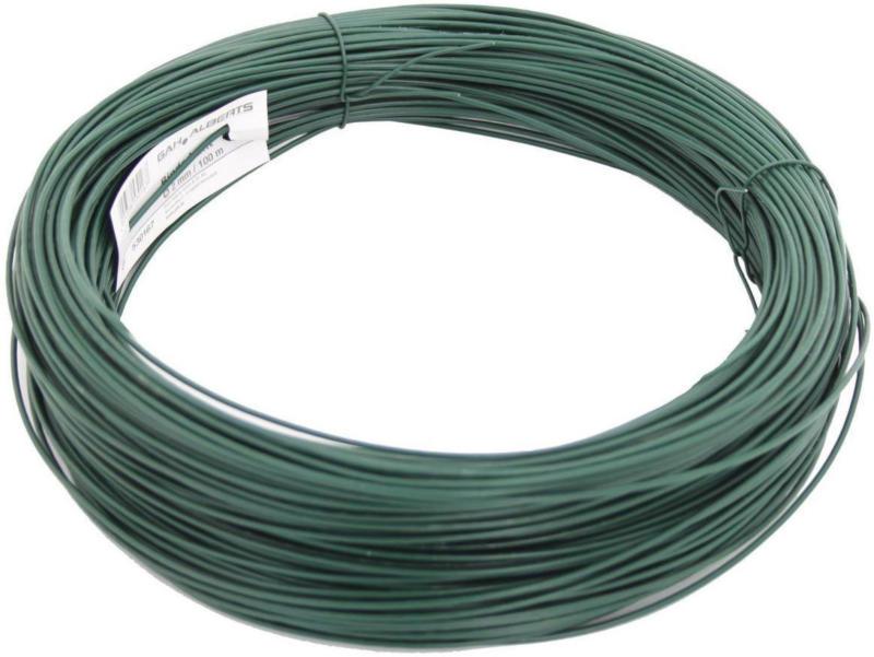 Bindedraht grün, 100 Meter, Stärke 2 mm