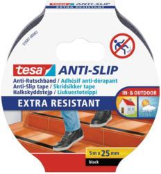 Tesa-Anti-Rutschband 5mx25mm, schwarz